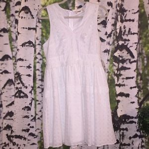 New w/Tags Alter'd State Eyelet w/trim White Dress